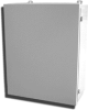 Powder Coated Steel NEMA 12 Wallmount One Door Single Access -- J-30H20A