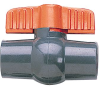 Low-Cost Two-Way PVC Ball Valves -- GO-07387-22