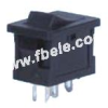 Miniature Rocker Switch -- MIRS-101-3+LED ON-OFF - Image