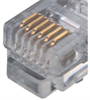 Flat Modular RJ12 Cable, RJ12 (6x6) / RJ12 (6x6), 5.0 ft -- TDC057-5 -Image