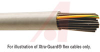 Cable, Flexible; 5; 16 AWG; 26 x 30; 0.350 in.; 0.022 in.; Lubricated PVC -- 70139763