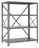 Steel Shelving - 18 & 20 Gauge IRONMAN Shelving - Open Clip Shelving - 18G-39-1836-6