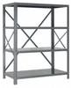 Steel Shelving - 18 & 20 Gauge IRONMAN Shelving - Open Clip Shelving - 18G-39-1836-6