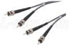 62.5/125, Multimode Fiber Cable, Dual ST / Dual ST, 150.0m -- FODSTC-150 -Image