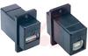 USB A-B PANEL ADAPT BLACK -- 70126101