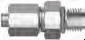 37 Flared SAE Fitting - JMC-U O-Ring Seal Male Connector.(UNF/UN) - Image