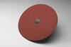 3M 381C Coated Aluminum Oxide Fibre Disc - Coarse Grade - 50 Grit - 7 in Diameter - 7/8 in Center Hole - 81376 -- 051144-81376 - Image