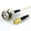 BNC Male to SMA Female Cable RG-316 Coax in 60 Inch -- FMC0813315-60 -Image