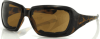 Bobster Scarlet Sunglasses with Tortoise Frame and Brown -- ESCA002