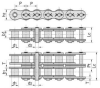 Cottered Type Short Pitch Precision Roller Chain(A Series) - Image