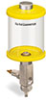 Yellow Color Key, Clear View Full Flow Manual Dispenser, 1 pt Acrylic Reservoir -- B5165-016ABYW -- View Larger Image