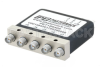 DP3T Electromechanical Relay Latching Switch, DC to 18 GHz, up to 90W, 28V, Indicators, SMA -- PE71S6405