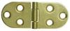 Sewing Machine Hinge, Brass Plated -- 286300