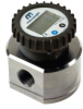 "1"" Positive Displacement Oval Gear Digital Flow Meter Batch -- MX25 Series - Image"