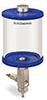 Blue Color Key, Clear View Full Flow Manual Dispenser, 1 qt Pyrex Reservoir -- B5165-032PBBW -- View Larger Image