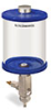 Blue Color Key, Clear View Full Flow Manual Dispenser, 1 qt Acrylic Reservoir -- B5165-032ABBW -- View Larger Image