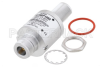 Type N F/F In/Out Bulkhead Coax RF Surge Protector, 1.8GHz - 6GHz, DC Block, 10W, IP67, 18kA, Filter -- PE73SP1050 -Image