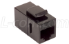 Cat6a Coupler -Unshielded RJ45 (8x8) Keystone Feed-thru -- TDG1026KC6A