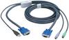 KVM FLASH CABLE VGA PS2 TO USB 10M -- EHN428-010M -- View Larger Image
