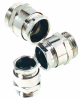 Nickel-Plated Brass Cable Clamp with PG & Metric Thread -- SKINDICHT® SVRE/SVRE-M