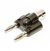 Adapter: Dual (4mm) Banana Plugs to Male BNC -- BU-P1270 - Image