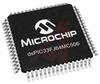 DSP, 16-Bit, 64KB Flash, 8KB RAM, 53 I/O, TQFP-64 -- 70046085