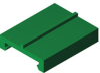 ExtrudedPE Profile -- HabiPLAST U2T -- View Larger Image