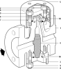 Thermodynamic Steam Trap -- TD45