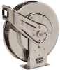 Spring Retractable Medium Pressure Stainless Steel Hose Reel -- 7800 OMS