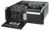 Quiet 4U Rackmount Chassis with Dual Hot-Swap SAS/SATA HDD Trays -- ACP-4320 -Image