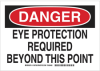Personal Protection Sign -- 128724