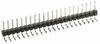 10 Pos. Male SIL Horizontal Throughboard Conn. -- M20-9961045 - Image