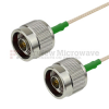 N Male to N Male Cable RG-316 Coax in 12 Inch and RoHS Compliant -- FMC0101315LF-12 -Image