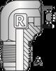 S52 – JIC Male Tube Weld 90º Elbow -Image