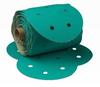 3M Green Corps 246U Coated Aluminum Oxide Disc Medium Grade 80 Grit - 8 in Diameter - 01569 -- 051131-01569 - Image