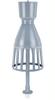 VHF/UHF Coaxial Dipole Antenna -- HK014E