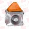 PFANNENBERG 23361804055 ( PATROL: FLASHING ALARM SOUNDERS (PLASTIC HOUSING - UL CERTIFIED - TYPE 4/4X - IP 66),10 J,149 CD,110 DB,18 TO 30 VDC,PA X 10-10 GREY HOUSING & AMBER LENS ) -- View Larger Image