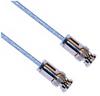 3-SLOT SOLDER/CLAMP PLUG TO PLUG M17/176 TWINAX, 60 INCH CABLE LENGTH -- CA-2008-60 -Image