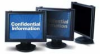 3M™ PF400LB Privacy Computer Filter, Black Frame -- PF400LB