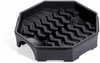 PIG Poly Drum Funnel Black For 55 gal. Tight-Head and 30 gal. Tight- & Open-Head Steel Drums, 1 each Drum Funnels DRM452-BK -- DRM452