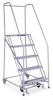 Rolling Ladder,Assembled,5Step,Exp Metal -- 1005R2630A1E10B4 SS P6