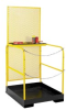 EUROKRAFT Industrial Work Platforms with Chain Gate -- 7664300