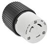 30A Electrical Connector: locking, 250VAC, NEMA L6-30 -- 70630NC