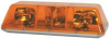 Light Bar,L 5 In, Amber -- 415611-02SB
