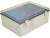 Enclosure; ABS/PC Blended Plastic; Polycarbonate Cover; Clear; NEMA -- 70148583