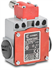 Shaft Hinge Interlock Safety Switch: aluminum body and plastic head -- SDM2K72W02