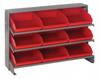 Bins & Systems - 4'' Shelf Bins (QSB Series) - Sloped Shelving Units - Bench Racks - QPRHA-109 - Image