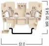 Terminal Blocks - Standard Type - Feed Through -- ER Series