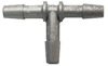 Stainless Steel Single Barbed Connector -- LSTR-10B6B