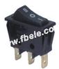 Single-pole Rocker Switch -- IRS-101-11C ON-OFF - Image